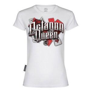 T-shirt Octagon Queen white