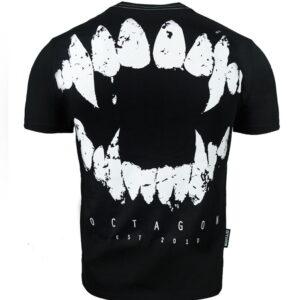T-shirt Octagon Teeth Black