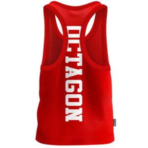 Tank Top Octagon Fight Wear red