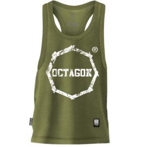 Tank Top Octagon Logo Smash khaki