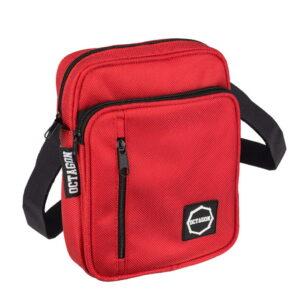 'Men''s Bag Octagon Logo Red'