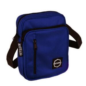 'Men''s Bag Octagon Logo Navy Blue'